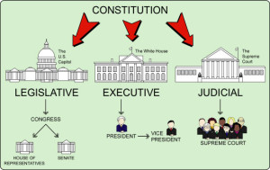 Branches of Government Diagram
