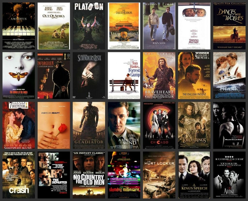 List of Oscar Best Pictures